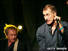 Gang of Four's Andy Gill (left) and Jon King