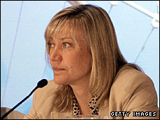 Locog director of sport Debbie Jevans