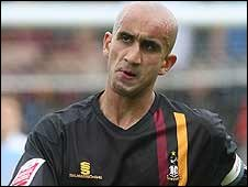 Bradford City defender Zesh Rehman
