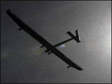 Solar Impulse takes off from Payerne airfield