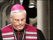 File photo of Bishop Georg Mueller from 15 January 2005
