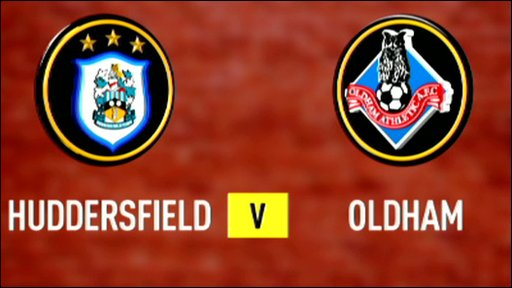 Huddersfield 2-0 Oldham