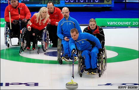 Wheelchair curlers at the 2010 Paralympic Games