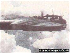 DO17Z in flight. Photo from historyofwar.org