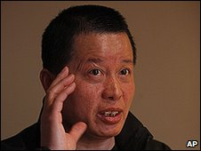 Gao Zhisheng, a human rights lawyer, during his first meeting with the media since he resurfaced two weeks ago, at a tea house in Beijing, China, Wednesday, April 7, 2010