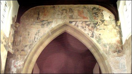 St Andrew's Doom painting