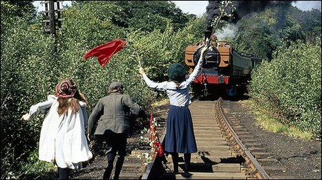 A still from The Railway Children