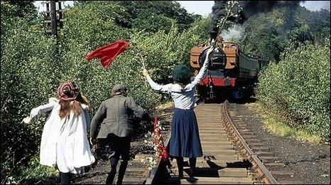 A still from The Railway Children