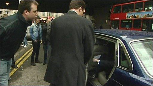 Ben Butterworth heckles Gordon Brown