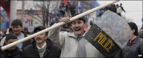 Violence in Bishkek, Kyrgyzstan