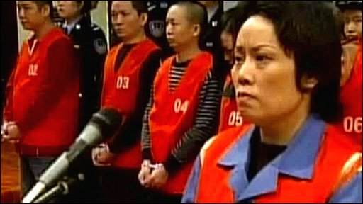 China's so-called ''godmother'' in court