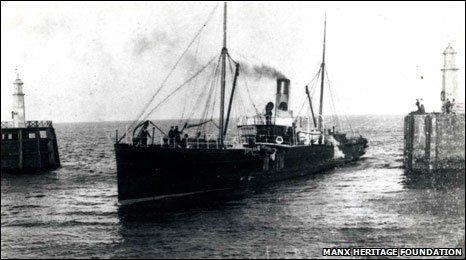 The Ellan Vannin courtesy Manx Heritage Foundation