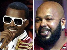 "Kanye West and Marion ""Suge"" Knight"