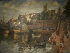 Inner harbour - Abbey Slip, by Stanhope Forbes