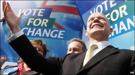 William Hague, campaigning