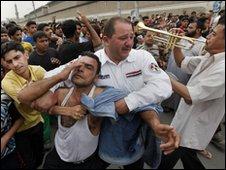 A Baghdad funeral 7 April 2010