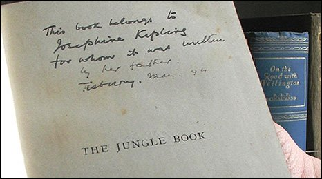 Jungle Book first edition