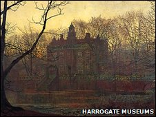 In the Gloaming. J Atkinson Grimshaw. Photo: Harrogate Museum