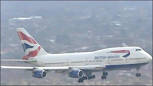 BA 747-400 Aircraft