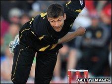 Kent bowler Simon Cook