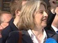 Senior Conservative Theresa May