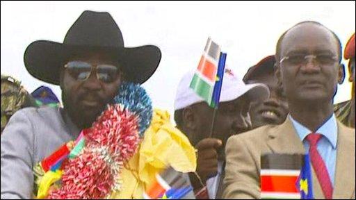 Salva Kir, President of Southern Sudan