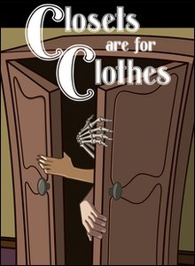 The Closets are for Clothes book cover