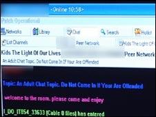 Paedophile website