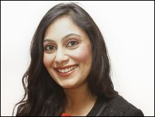 Conservative candidate Shazia Awan