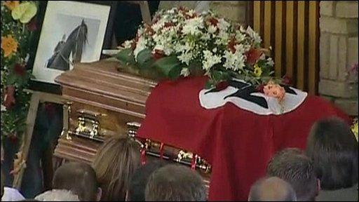 Eugene Terreblanche funeral