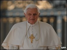 Pope Benedict XVI at the Vatican, 7 April 2010