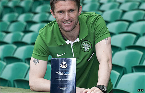 Robbie Keane was the player of the round in the Scottish Cup quarter-finals