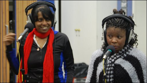 Jaheda and Emmanuela of Beating Wing Orchestra