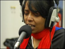 Jaheda of Beating Wing Orchestra