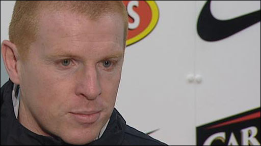 Celtic interim manager Neil Lennon