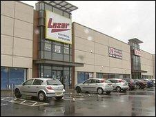 Laser had 10 stores across Northern Ireland
