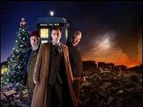 Doctor Who: End of Time with David Tennant, Bernard Cribbins and John Simm
