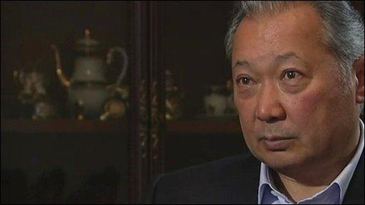 Ousted Kyrgyz President Kurmanbek Bakiyev