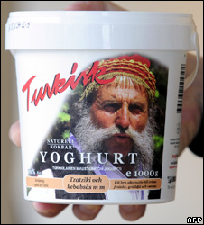 Pot of Lindahls Turkisk Yoghurt