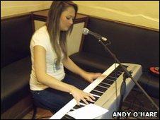 Worcester singer/songwriter Christina Maynard AKA Tina V