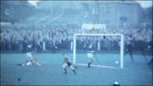 Berwick Rangers stun Rangers in 1967