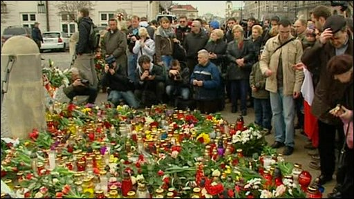 Tributes in Warsaw