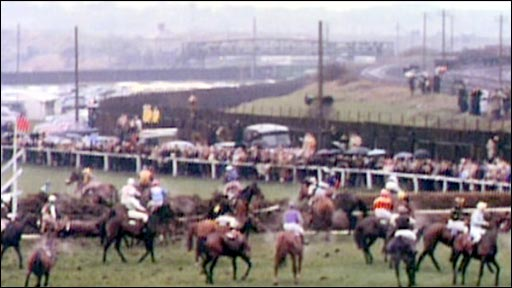 The 23rd fence at Aintree
