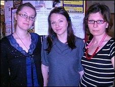 Agata Krulikowska, Joanna Puchalska and Emilia Ordzieniewicz
