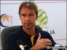 Dutch coach Pim Verbeek