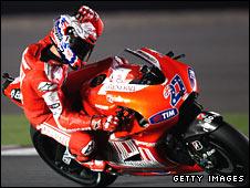 Ducati rider Casey Stoner