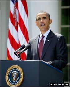 President Barack Obama speaks about mining disaster