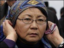 Kyrgyz interim leader Rosa Otunbayeva