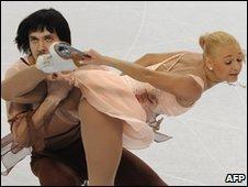 """Russia""""s Maria Mukhortova and Maxim Trankov"""