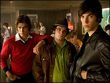 Christian Cooke, Jack Doolan and Tom Hughes in Cemetery Junction